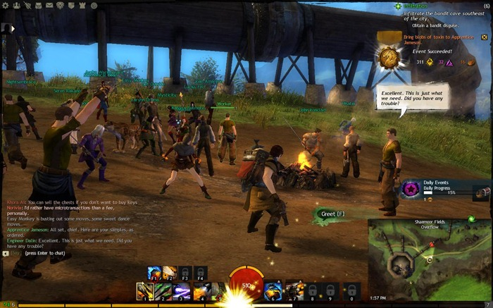 A Guild Wars 2 event