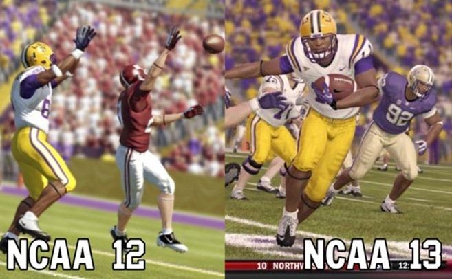 NCAA 12 vs NCAA 13