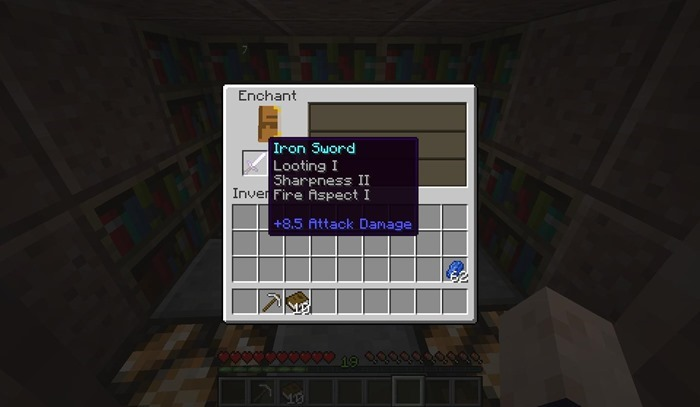 Minecraft snapshot 14w02b