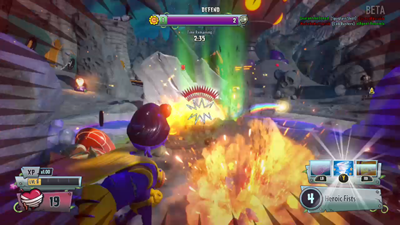 Plants vs Zombies Garden Warfare 2 beta
