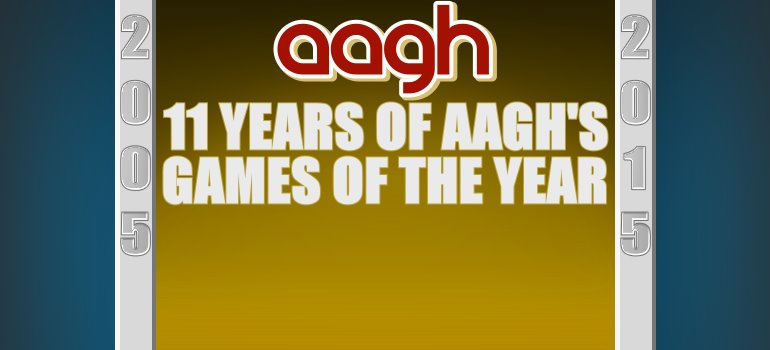 The History of AAGH's Game of the Year Award