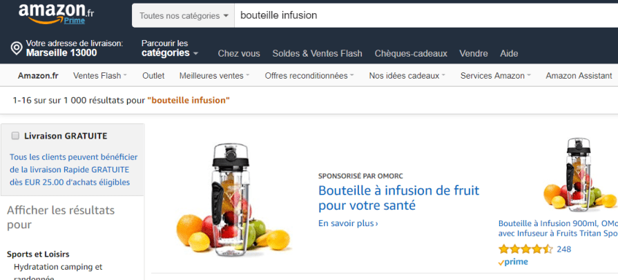 amazon vendeur