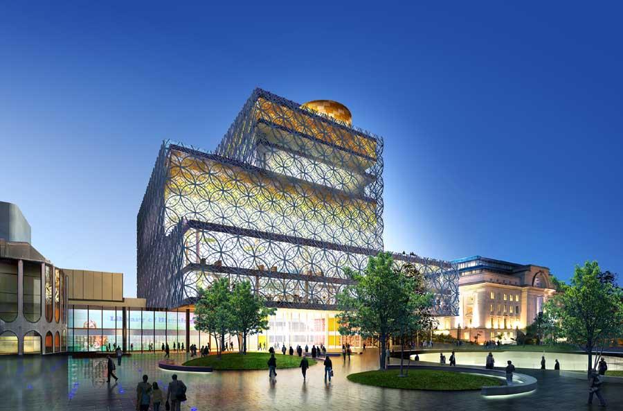 Birmingham Library Building Earchitect