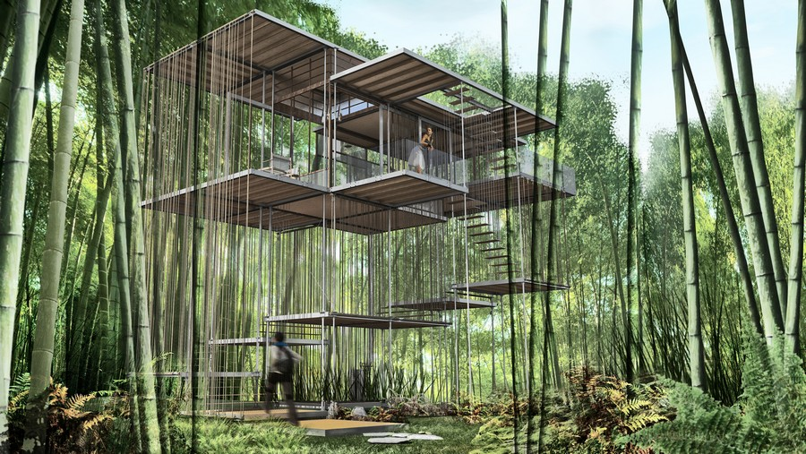 Triumph Architectural Treehouse Award 2014 3 Earchitect