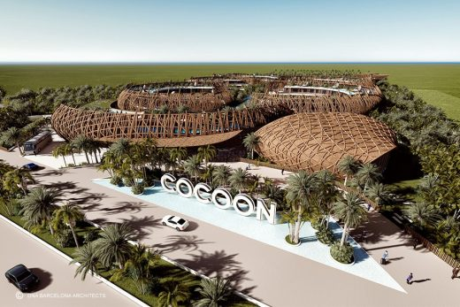 Cocoon Hotel In Tulum, Quintana Roo Earchitect
