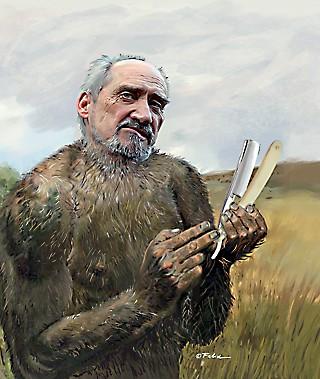 Macierwicz Małpa z Brzytwą
