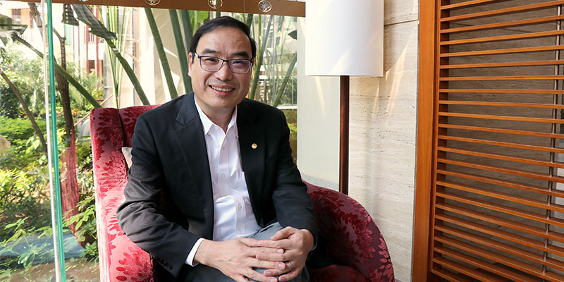 E-BI President & CEO George Wang