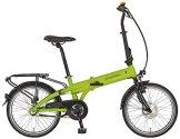 Prophete E-Bike Navigator 6.1 Alu-Faltrad, lemon