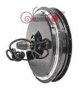 Latest 24V 36V 48V 500W Electric Motor For Bikes Brushless Gearless Hub Motor eBike Most Powerful Kits Front Wheel Motor E-bike -