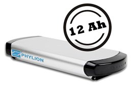 Phylion Akku XH370-10J für E-Bike Pedelec 37V 12Ah -