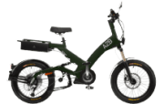 A2B Octave Urbanbike (20 Zoll, Y-frame, 475 Wh, Olivgrün matt)