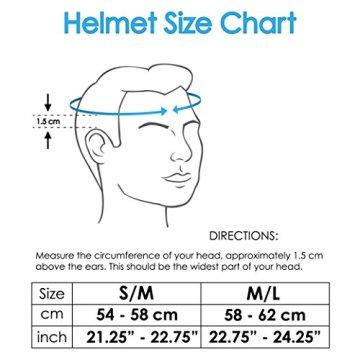 Airflow Fahrradhelm mit Sicherheitszertifikat - Speziell für Radtouren & Mountainbiking - Hochwertig, Bequem, Leicht & Atmungsaktiv - Geeignet für Männer, Frauen & Teenager (Matte White, M/L) -