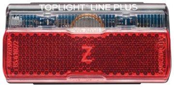 Busch & Müller Diodenrücklicht Toplight Line Plus f. E-Bike + Standlicht 80mm -
