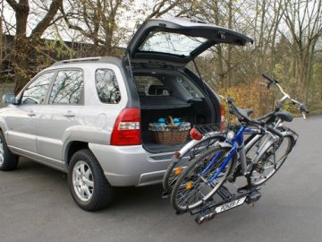 EUFAB 12010LAS Fahrradträger: Kupplungsträger