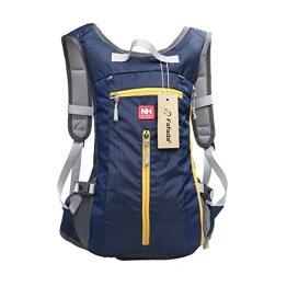 Fafada 15L Damen Herren Wasserdicht Trekking Fahrradrucksack Atmungsaktiv Backpack Schulter Rucksack für Radfahren Bergsteigen Marine -