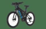 Fischer Proline EVO EM 1609 Mountainbike (27.5 Zoll, 48 cm, MTB Fully, 504 Wh, Schwarz matt)