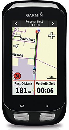 Garmin Edge 1000 Bundle GPS-Radcomputer inkl. Herzfrequenz-Brustgurt - 7,6cm Touchscreen, ANT+, inkl. Sensoren -