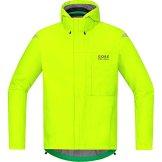 GORE BIKE WEAR Herren Regen-Fahrradjacke, Leicht, GORE-TEX, ELEMENT GT Paclite Jacket, Größe: M, Gelb, JGPMEL -