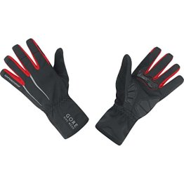 GORE BIKE Wear Herren Rennradhandschuhe, GORE WINDSTOPPER, POWER WS Gloves, Größe 8, Schwarz, GWPOWE -