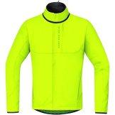 GORE BIKE WEAR Herren Thermo Mountainbike-Jacke, GORE WINDSTOPPER Soft Shell, POWER TRAIL WS SO, Größe: XL, Neon Gelb, JWPOWT -
