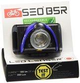 LED Lenser Rücklicht B5R, blau 9005-RB -
