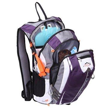 Local Lion 18L Outdoor-Sportarten Wasserabweisend Trekking Reisetasche /Fahrradrucksack/ normaler Rucksack /Backpack -