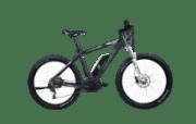 Nopeus E-Terra Mountainbike (27.5 Zoll, 48 cm, MTB Hardtail, 400 Wh, Schwarz Matt)