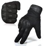 [Sport Handschuhe] FREETOO® Motorrad Handschuhe Herren Vollfinger Army Gloves Ideal für Airsoft, Militär,Paintball,Airsoft -