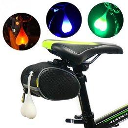 SUN-E Lustig, Eine Herzförmige Fahrrad Rücklicht Pro Coole Outdoor Hohe Intensität Führte Radfahren Sicherheit Schlusslicht - das Beste für Alle Rennrad - und Mountainbike (Grün) -