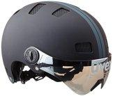 Uvex Fahrradhelm City V, Black Mat, 55-58, 4101890217 -