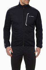 VAUDE Herren Posta Softshell Jacket, Black, XL, 04054 -