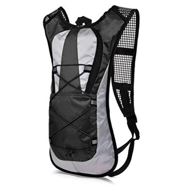 Vbiger 5L Leicht Wasserdicht Trekkingrucksack Wanderrucksack Taktische Rucksack Trekkingrucksäcke für Reisen Wandern und Bergsteigen -