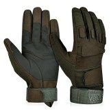 Vbiger Outdoor Sport Fahrradhandschuhe Mountainbike Handschuhe Motorradhandschuhe (Grün, XL) -