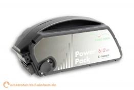 E-Bike Vision Bosch Classic Power Pack Unterrohrakku 612Wh
