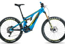 Pivot Shuttle long travel eMTB lets you ride up the hill and shred the bike park downhills with DW-Link suspension