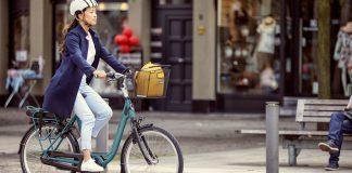 Gazelle Avenue commuter e-bike with Shimano STEPS drivetrain and lightweight step-thru alloy frame