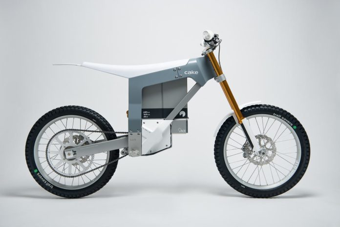 Cake Kalk electric offroad motorcycle e-bike tech specs and details