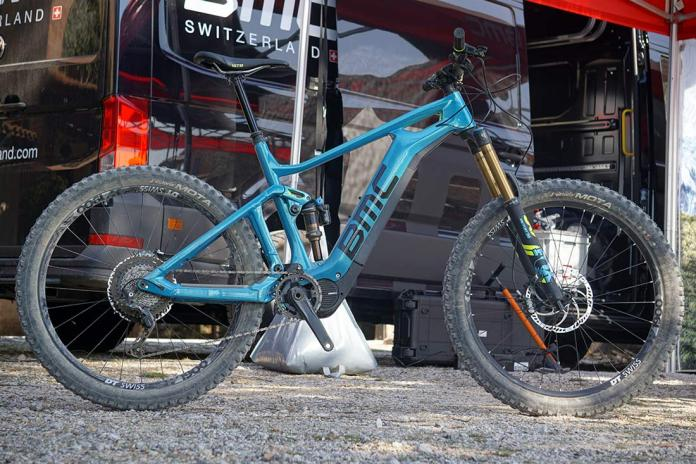 2019 BMC Trailfox AMP SX long travel e-mountain bike