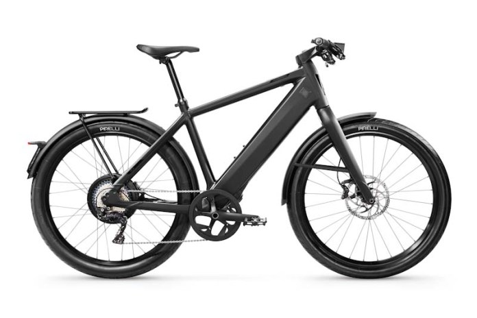 Stromer ST3, Black, side
