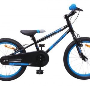 AMIGO Cross 18 Inch 22 cm Junior V-Brake Zwart/Blauw