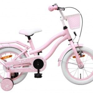 AMIGO Lovely 14 Inch 23 cm Meisjes Terugtraprem Roze