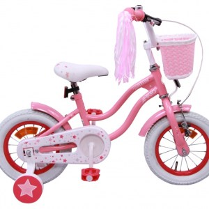 AMIGO Superstar 12 Inch 20 cm Meisjes Terugtraprem Roze