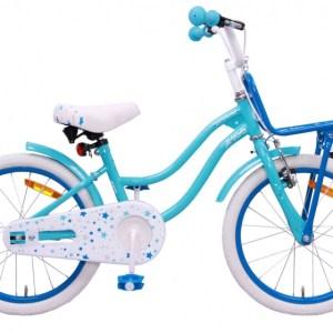 AMIGO Superstar 18 Inch 24 cm Meisjes Terugtraprem Lichtblauw