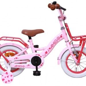 AMIGO Sweetheart 12 Inch 21 cm Meisjes Terugtraprem Roze