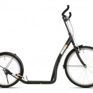 Bike Fun step Bike2Go 24 Inch Unisex V-Brake Zwart