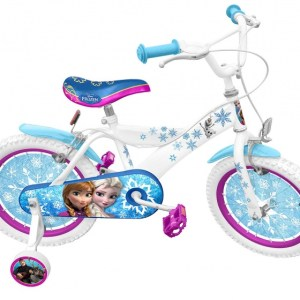 Disney Frozen 16 Inch 26 cm Meisjes Knijprem Wit/Blauw