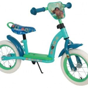 Disney Vaiana loopfiets Deluxe 12 Inch Meisjes Groen