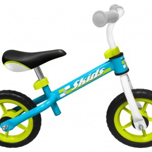 Skids Control loopfiets 10 Inch Junior Lichtblauw/Lichtgroen