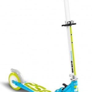 Skids Control vouwstep Junior Voetrem Lichtblauw/Lichtgroen