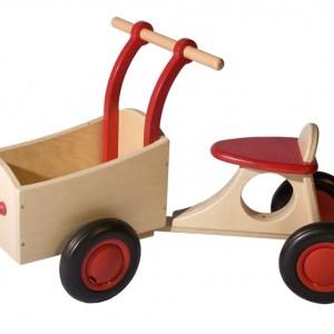 Van Dijk Toys loop-bakfiets Junior Rood